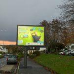 Novembre 2016, affichage sur Quimper