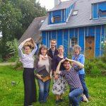 Réseau TYNEO sur la route du cyclo trip de Evan de Bretagne et Maud la baroudeuse culinaire
