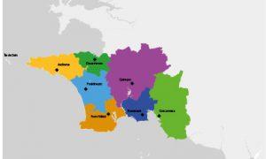 Carte accueils habitat cornouaille
